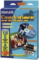 / Maxell - LK-1 CDR Label Kit W/Software
