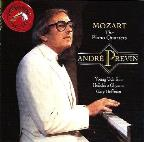 Mozart: The Piano Quartets / Andr&#233; Previn