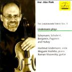 Lindemann plays Schumann, Schubert, Benjamin, Paganini and Hubay