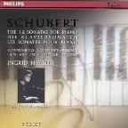 Schubert: 12 Sonatas For Piano, 8 Impromptus, Etc.