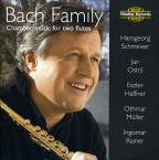 Bach Family: Chamber Music for Two Flutes
