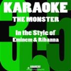 Monster (In The Style Of Eminem & Rihanna) [karaoke Version] - Single
