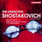 Unknown Shostakovich