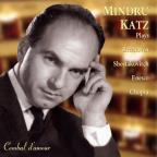 Mindru Katz plays Beethoven, Shostakovich, Enesco & Chopin