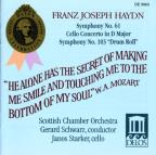 "Franz Joseph Haydn: Symphony No. 61; Cello Concerto in D major; Symphony No. 103 ""Drum Roll"""