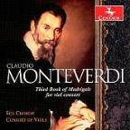 Monteverdi: Third Book of Madrigals for viol consort