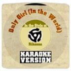 Only Girl (In The World) [in The Style Of Rihanna] [karaoke Version] - Single