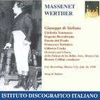 Massenet, J.: Werther (Sung In Italian) [opera] (1949)