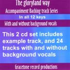 Gloryland Way Accompaniment Backing Track Series