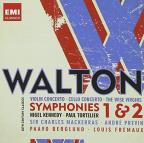 Walton: Violin Concerto; Cello Concerto; The Wise Virgins; Symphonies Nos. 1 & 2