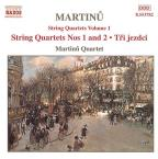 Martinu: String Quartets Volume 1