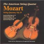 Mozart: String Quartets Vol 4 / American String Quartet