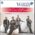 Paganini: 24 Caprices Arranged By William Zinn For String Quartet