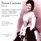 Teresa Carreno, Pianist
