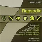 Rhapsodie: French Music for Clarinet & Piano