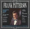 Frank Patterson - Favourite Tenor Arias / Blair, Royal PO