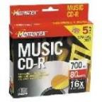 CD-R - 700MB, 5 Pack Slim