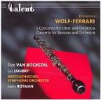 Wolf-Ferrari: 2 Concertos For Oboe And Orchestra
