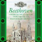 Beethoven: String Quartet no 13, etc / Brandis Quartett