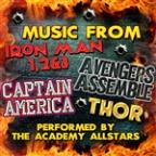 Music From Iron Man 1, 2 & 3, Avengers Assemble, Captain America & Thor