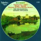 Balakirev: Symphonies 1 and 2; Russia; Tamara; Overture on Three Russian Themes