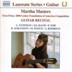 Martha Masters: Guitar Recital