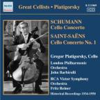 1934-1950: Great Cellists: His