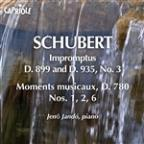 Schubert, F.: Impromptus, D. 899 And D. 935, No. 3 / 6 Moments Musicaux (Excerpts)