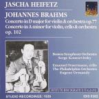 Brahms, J.: Violin Concerto, Op. 77 / Double Concerto For Violin And Cello, Op. 102 (Heifetz) (1939)