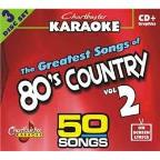 Karaoke: Greatest Songs Of 80s Country 2