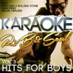 Karaoke - RNB & Soul Hits For Boys, Vol. 3