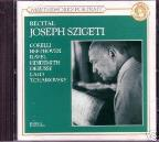 Recital / Joseph Szigeti