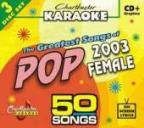 Karaoke: Greatest Songs Of Female Pop 2003