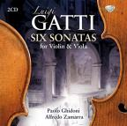 Luigi Gatti: Six Sonatas for Violin & Viola