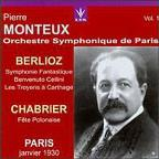 Berlioz: Symphonie Fantastique;  Chabrier/ Monteux, Paris SO