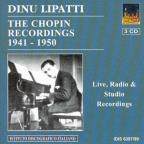 Chopin, F.: Piano Music (Dinu Lipatti - The Chopin Recordings) (1941-1950)