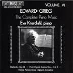 Grieg: Complete Piano Music, Vol. 6
