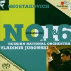 Shostakovich: Symphonies Nos. 1 &amp; 6