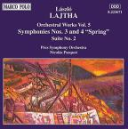Lajtha: Orchestral Works Vol 5 / Pasquet, Pécs SO