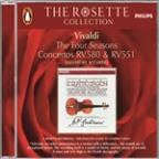 Vivaldi: The Four Seasons; Concertos RV 580 & RV 551