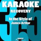 Recovery (In The Style Of James Arthur) [karaoke Version] - Single