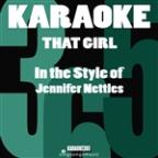 That Girl (In The Style Of Jennifer Nettles) [karaoke Version] - Single
