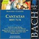 Sacred Cantatas BWV 71-74