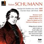 Schumann: Chamber Music with Winds
