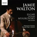Cello Concertos by Elgar & Myakovsky
