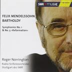 Mendelssohn: Symphonies Nos. 1 &amp; 5 &quot;Reformation&quot;