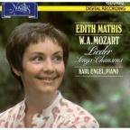 Mozart: Lieder / Edith Mathis, Karl Engel