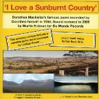 I Love A Sunburnt Country