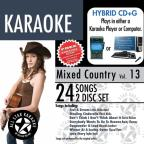 Karaoke: Mixed Country, Vol. 13