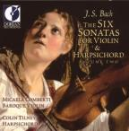 J.S. Bach: The Six Sonatas for Violin & Harpsichord, Vol. 2